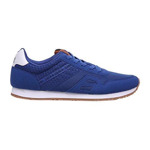 Jack & Jones Lafayette Mesh Sneaker blau - weiß