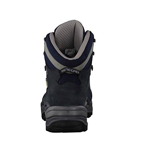 Lowa Renegade Gtx Mid Ws, Stivali da Escursionismo Donna Blu (marine)
