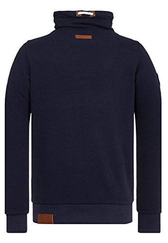 Naketano Male Sweatshirt Congenialer Pimmel III Dark Blue