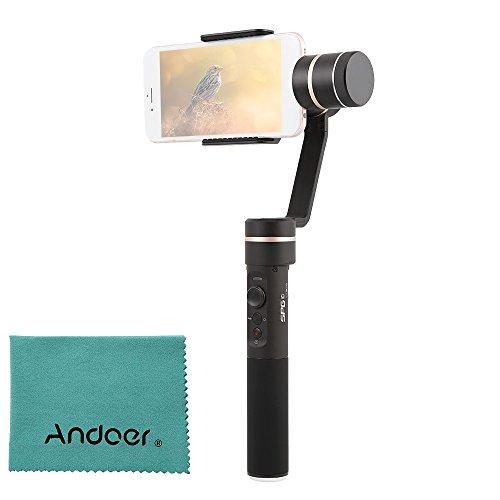 FeiyuTech SPG c 3-assi Stabilizzato Gimbal verticale e orizzontale di tiro Manuale di messa a fuoco supporto di monitoraggio del viso Panorama e Time-lapse Fotografia per 50mm-80mm Width Smartphone