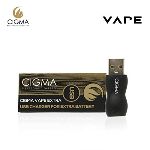 Cigma Vape USB Für Extra-Akku - USB-Ladegerät - Fast & Easy Power Adapter (E-Zigarette separat erhältlich)