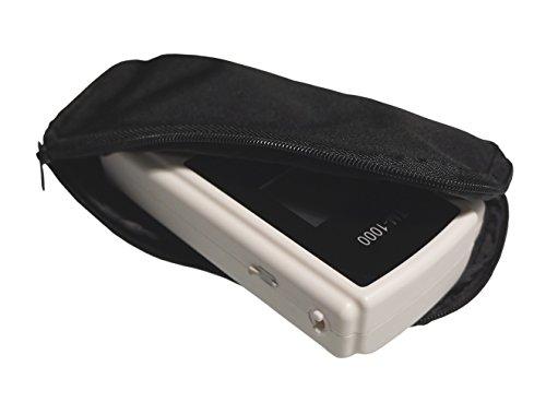 Alkoholtester Trendmedic TM-1000 – Digitaler Atemalkohol-Tester mit elektrochemischen Sensor – polizeigenau – Anzeige in Promille - 4