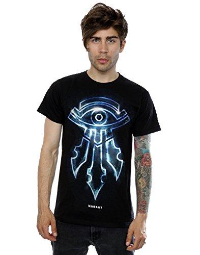 Warcraft Uomo Mage Emblem Maglietta X-Large Nero