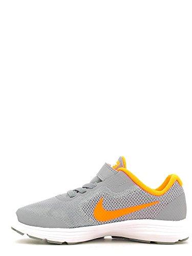 Nike Revolution 3 (Psv), Scarpe da Corsa Bambino Grigio