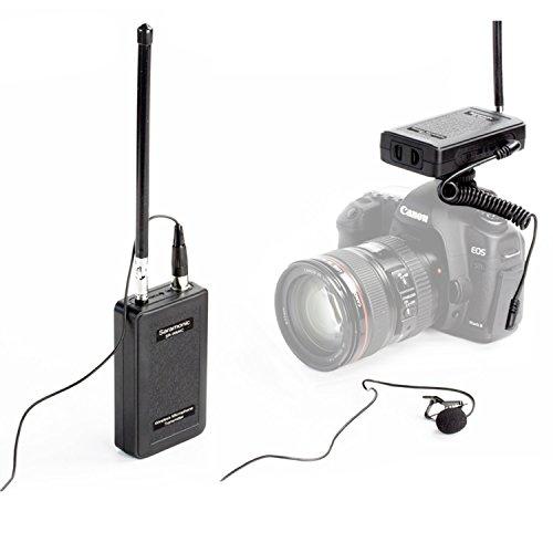 Saramonic WM4C Vhf Kabelloses Omni-direktionaler Lavalier Mikrofon Kabellos Ansteckmikrofon Für ENG, EFP, DV, Canon Nikon Sony Panasonic DSLR Kamera Camcorder Audio Recorder