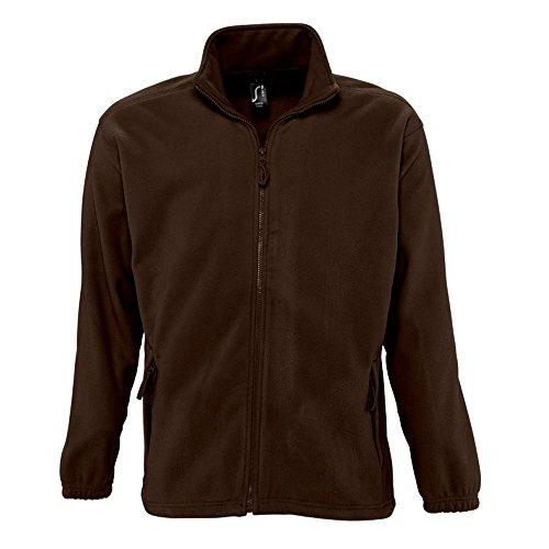 SOLS Herren Outdoor Fleece Jacke North Graphit