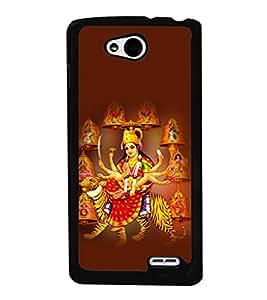 printtech Shera Wali Mata Goddess Back Case Cover for LG L90