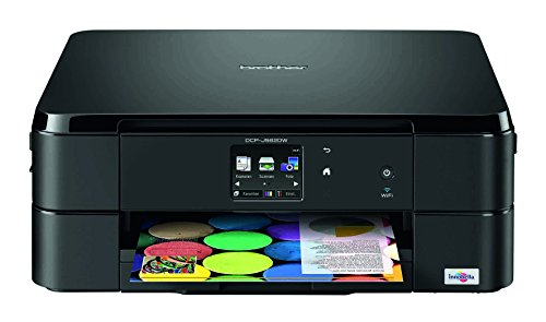 Brother DCP-J562DW Multifunktionsdrucker Tintenstrahl mit Scan/Copy-Funktion (Brother-wlan-drucker-fax)