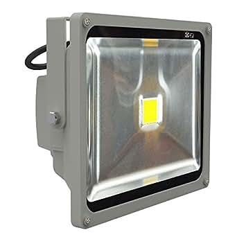 50w led fluter strahler 230v 4500 5000 lumen. Black Bedroom Furniture Sets. Home Design Ideas