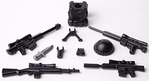BrickArms Sniper Set, Scharfschützen, Custom Waffen für LEGO® Figuren (Sniper Set)