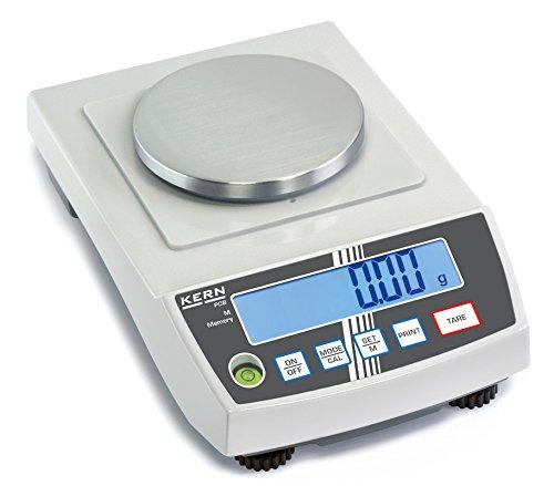 Präzisionswaage - Die wirtschaftliche Lösung für kluge Rechner [Kern PCB 200-2] Präzision bis 0,01 g, Wägebereich max. 200 g