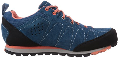 Viking Lykkja Gtx W, Chaussures de marche femme Bleu - Blau (Blue/Coral 3551)