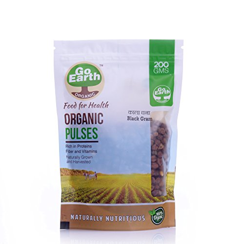 Go Earth Organic Kala Chana 200g