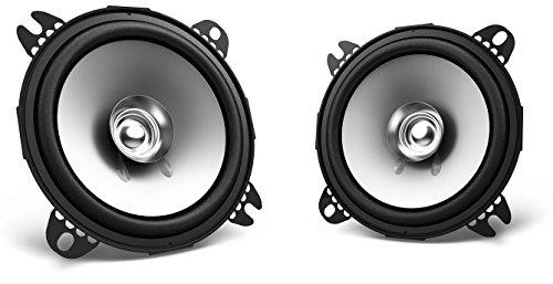 Kenwood Haut parleurs bi-cônes de 10 cm Noir
