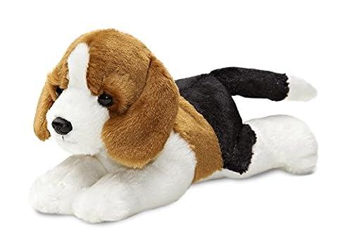 Best Seller Mini Flopsie - Homer Beagle Plush Soft Toy Animal - Ideal Christmas Gift / Present for Boys & Girls My First Teddy