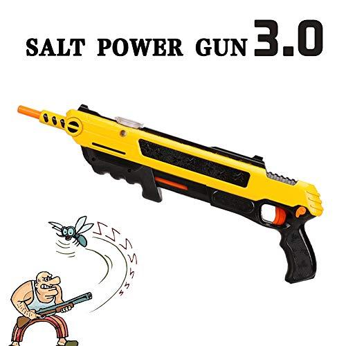 Salt-paket (Fly Gun Mosquito Modell Spielzeug Salt Gun Insekten Mörder Gewehr Bug Blow Gun Pfeffer Bullets Blaster Airsoft Insect Eradication Gun,Toy Salzpistole Bullets Pistole Spielzeug Im Freien)
