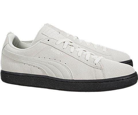Puma Mens Suede Classic Black Sole Shoes