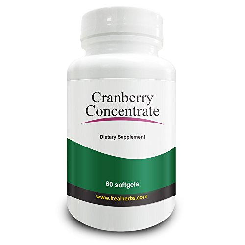 Concentrato di Cranberry - mirtillo rosso americano- (Concentrazione 50: 1) - Equivalente a 12,600mg di mirtilli freschi. Arricchito con vitamina C ed E, la migliore alternativa alle solite pillole Cranberry. Supporto e sollievo alle infezioni del tratto urinario (UTI)