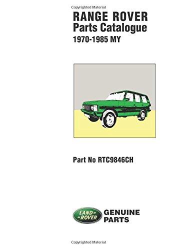 Range Rover 1970-85 Parts Catalogue por Brooklands Books Ltd