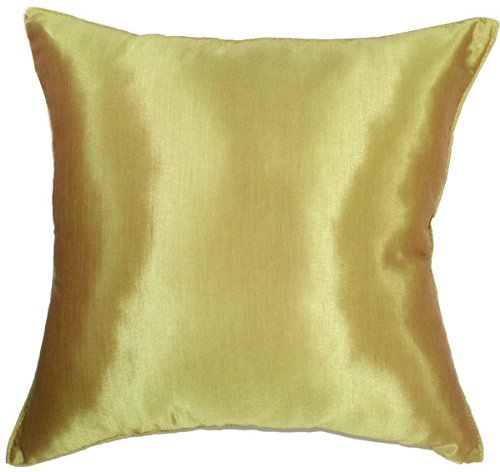 """Artiwa 16""""x16"""" Silk Decorative Throw Accent Pillow Cover Solid"""