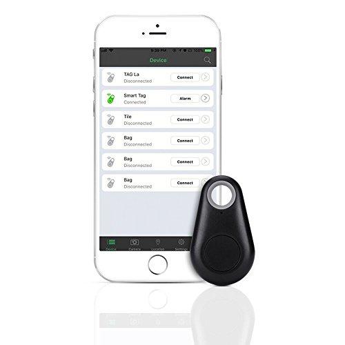 Alarm Bluetooth Schlüsselfinder/Ortungsgerät, Key Finder/Mini Bluetooth Tracker/Locator,Verlustschutz Diebstahlsschutz für Haustier und Kinder