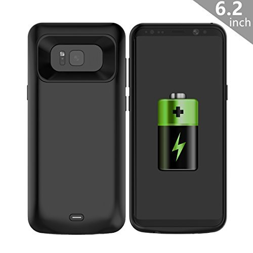 COOFUN Samsung Galaxy S8 Plus S8+ Charger Battery Case