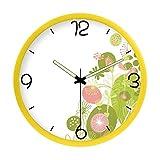 Decoración del hogar Personalidad creativa Reloj Reloj de cuarzo creativo de sala de estar del dormitorio de la moda Reloj de cuarzo creativo (Color: F) Accesorios de moda para el hogar ( color : D )