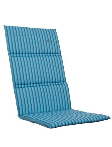 Kettler-0309001-8711-Auflage-fr-Klappsessel-123-x-50-x-3-cm-fr-textil-bezogene-Aluminium-Gartenmbel-hellblau-gestreift