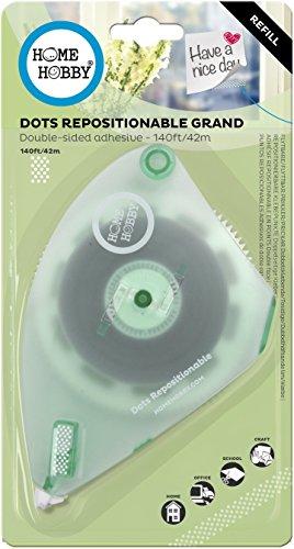 3L E-Z Runner GRAND REFILL Dots, Repositionable, 8 mm/45m weiß