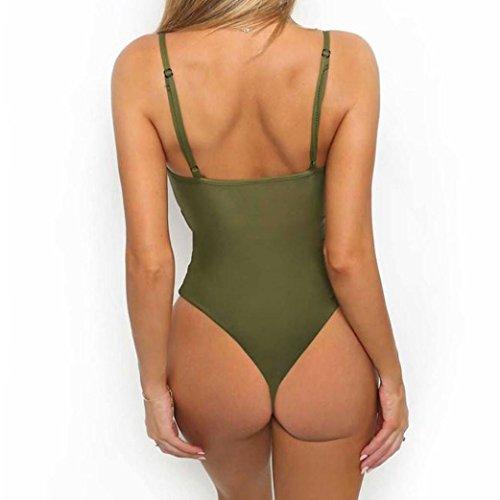 Ba Zha Swimwear -  Costume intero  - Donna Army Green