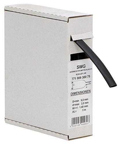 Schössmetall-Schrumpfschlauch schmrumpfschläuche 9-3mm 3Meter