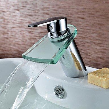 miaoge Zeitgenössische Messing Waschbecken Wasserhahn (Wasserfall) (Danze Bad Wasserhahn)