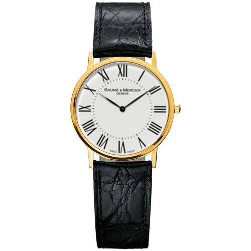 baume-et-mercier-classima-ejecutivos-moa8070-gents-negro-reloj-de-cuero