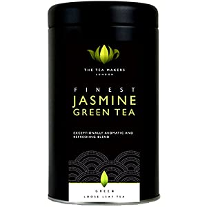 Thé vert chinois au jasmin - En boite hermétique de 125g