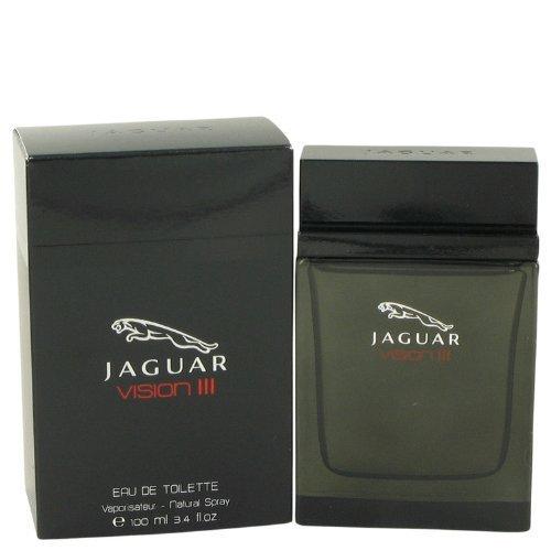 Jaguar Vision III Eau De Toilette Spray 3.4 Oz for Men