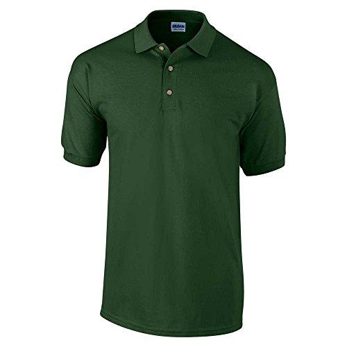 Gildan Mens Heavyweight 100 Short Sleeve Ultra Cotton Polo Shirt - Ultra Cotton Heavyweight T-shirt
