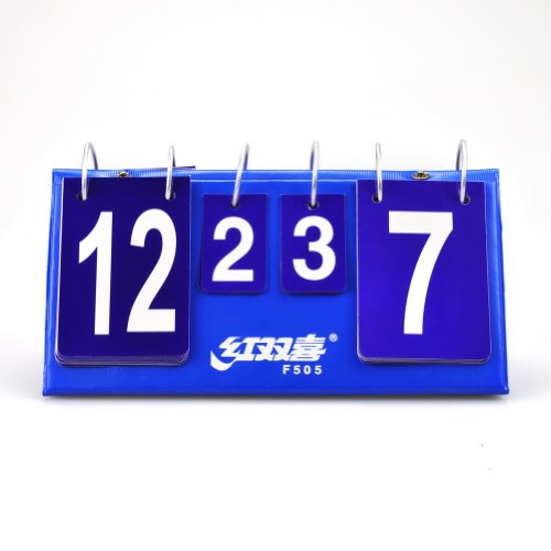 Price comparison product image DHS F505 Portable Flip Table Tennis Scoreboard, Ping Pong Scorekeeper