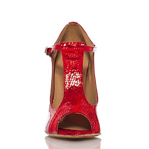 Miyoopark ,  Damen Tanzschuhe Red-10cm heel