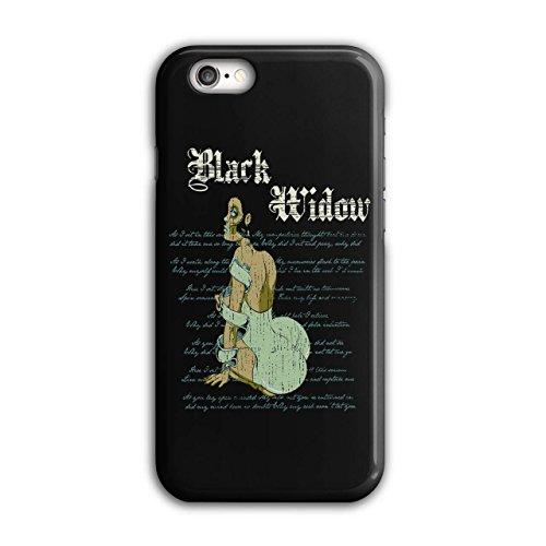 Witwe Sexy Mädchen Zombie Spinne Fluch iPhone 6 / 6S Hülle | (Kostüm Schwarze Beerdigung Witwe)