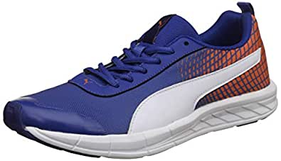 Puma Men's Supernal Nu 2 Idp Limoges, Firecracker and White Running Shoes-10 UK/India (44.5 EU) (19186106)