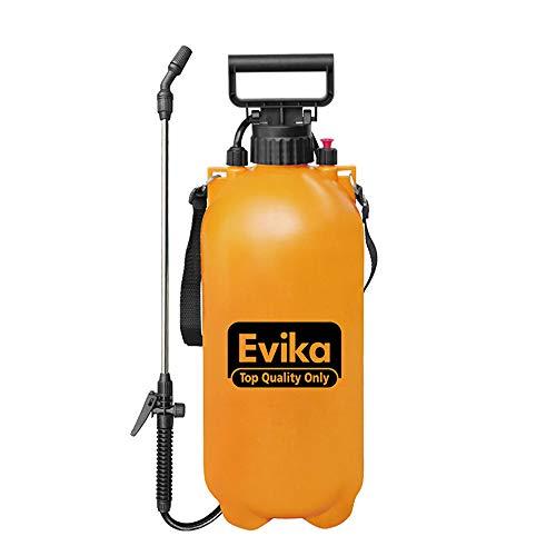 Jenify Rasengarten Portable Pump Sprayer, EIN-Hand-Drucksprayer, Mehrfach-Gebrauchsbaum und Turf inklusive Schultergurt,2Gallon