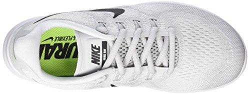 Corsa Nike Da Scarpe Nero Bianca 2017 Puro bianco Grigio Rn Libero Gara platino Donna Di Arn0AU1Z
