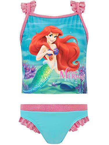 Disney Mädchen Arielle, die Meerjungfrau Zweiteiliger Badeanzug Blau 86