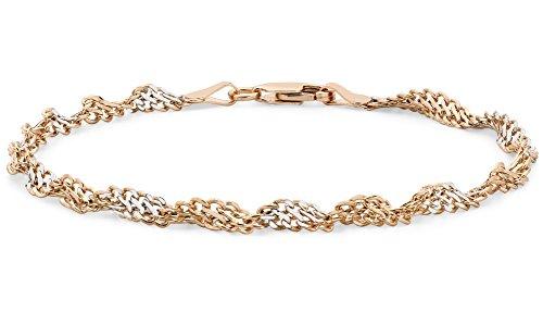 Carissima Gold - Bracelet cordon - Or jaune 9 cts - 19 cm - 1.23.0472 2 Couleur