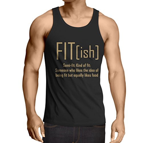 lepni.me Vest Fit - Ish Definition. Exercise - Workout - Gym, Sarcastic Gift Idea, Funny Weightloss Sayings