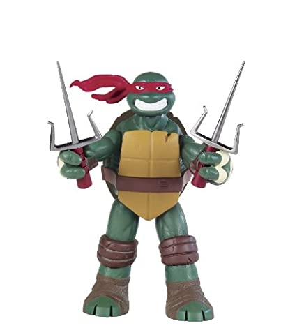 Tortues Ninja – Battle Shell – Raphael – Figurine Articulée 25 cm (Import Royaume-Uni)