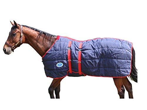 1200D Nylon geschlossen vorne Pferd Stalldecke–205,7cm