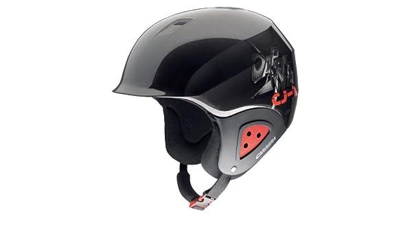 Carrera CJ 1 Casque de ski pour enfant (Noir Rouge), Schwarz, 53-57   Amazon.fr  Sports et Loisirs ab6f3e3a5b8f