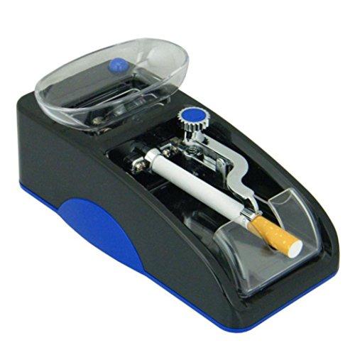 TAOtTAO Elektrische automatische Zigaretten-Walzwerk-Tabak-Hersteller-Rolle (blue) (Elektrische Zigarette Rollen)