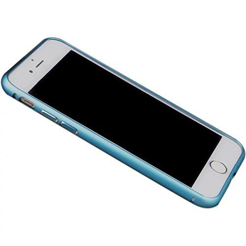 Case pour iPhone 7plus, Ultra Slim Super Soft TPU silicone avec la mode Placage Craft, motif en ¨¦toile, Violet Bleu ciel